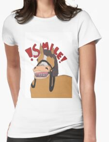 Smile! Womens Fitted T-Shirt