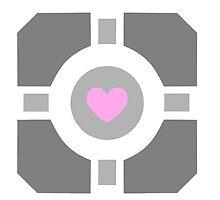 Portal Companion Cube by WonderOri
