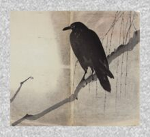 Crow On A Willow Branch - anon - c1880 Baby Tee