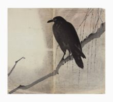 Crow On A Willow Branch - anon - c1880 One Piece - Long Sleeve