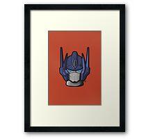 G1 Optimus Prime Framed Print