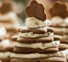 Christmas tree gingerbreads Sticker