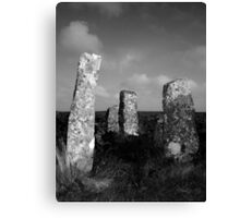 Stones at Zennor Quoit, Cornwall Canvas Print