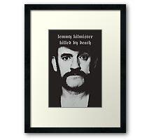 R.I.P. Lemmy Kilmister Motorhead Framed Print