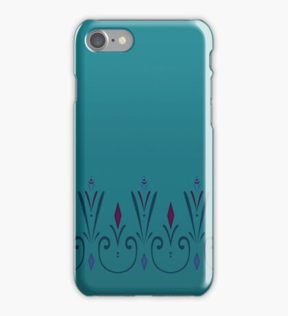 Snow Queen Coronation Pencil Skirt iPhone Case/Skin