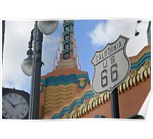 Route 66 in WDW Poster