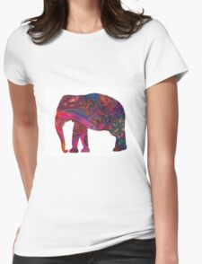 Tame Impala Elephant Womens Fitted T-Shirt