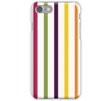 Fruit Tree Stripe Pattern iPhone Case/Skin