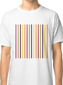 Fruit Tree Stripe Pattern Classic T-Shirt