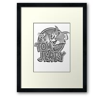 Tom and Jerry Framed Print