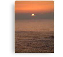 Newquay Sunset,Cornwall,UK Canvas Print