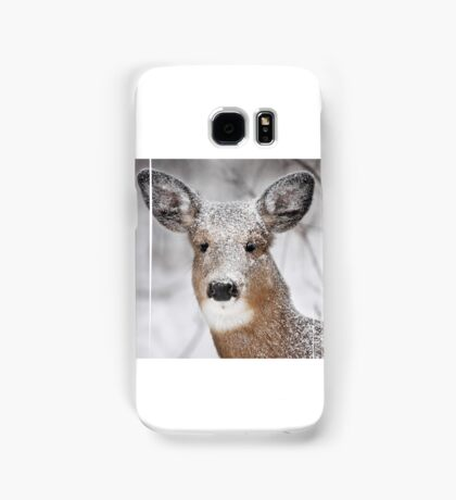 I hate snow! - White-tailed Deer Samsung Galaxy Case/Skin