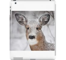 I hate snow! - White-tailed Deer iPad Case/Skin