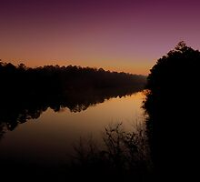 Morning on Catawba River by Chanel70