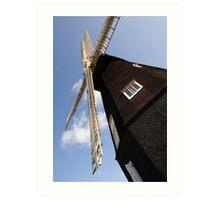 Sarre Windmill Art Print
