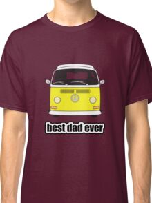 Best Dad Ever Yellow Early Bay Classic T-Shirt