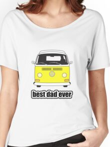 Best Dad Ever Yellow Early Bay Women's Relaxed Fit T-Shirt