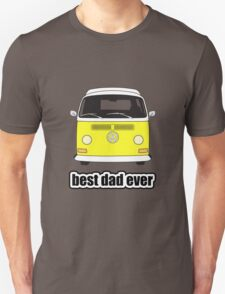 Best Dad Ever Yellow Early Bay Unisex T-Shirt