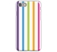 Bright Hue Stripe Pattern iPhone Case/Skin