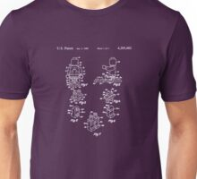 The Lego Patent Of Minifigurine In White Version Unisex T-Shirt