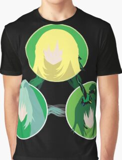 EXE Evolution - Green Graphic T-Shirt