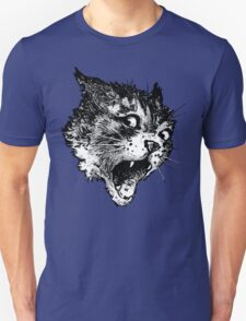 Freaky Cat B&W T-Shirt
