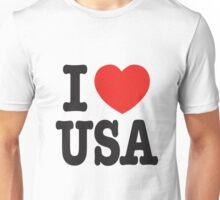 I Love USA - United State Unisex T-Shirt