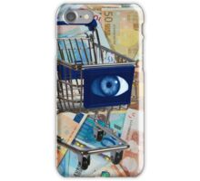 Surreal shopping Cart iPhone Case/Skin