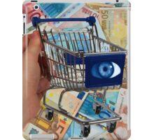 Surreal shopping Cart iPad Case/Skin