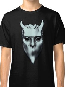 NAMELESS GHOUL - silver oil paint Classic T-Shirt