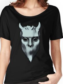 NAMELESS GHOUL - silver oil paint Women's Relaxed Fit T-Shirt