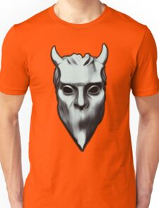 NAMELESS GHOUL - silver oil paint Unisex T-Shirt