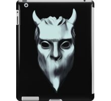 NAMELESS GHOUL - silver oil paint iPad Case/Skin