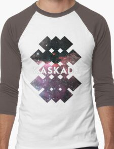 Kaskade Galaxy Black Men's Baseball ¾ T-Shirt