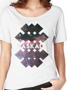 Kaskade Galaxy Black Women's Relaxed Fit T-Shirt