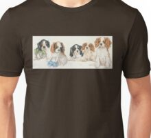 Cavalier King Charles Spaniel Puppies Unisex T-Shirt