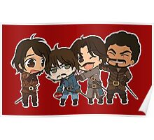 The Mini Musketeers  Poster