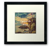 Nature Motivation Framed Print