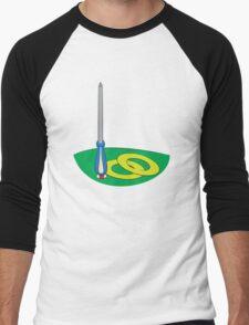 Sonic Screwdriver Men's Baseball ¾ T-Shirt