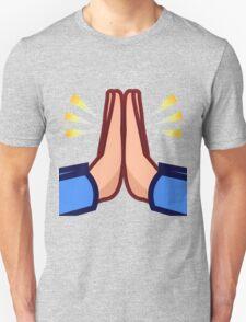 Praying hands emoji Unisex T-Shirt