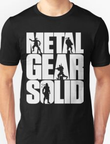 Metal Gear Solid MGS Unisex T-Shirt