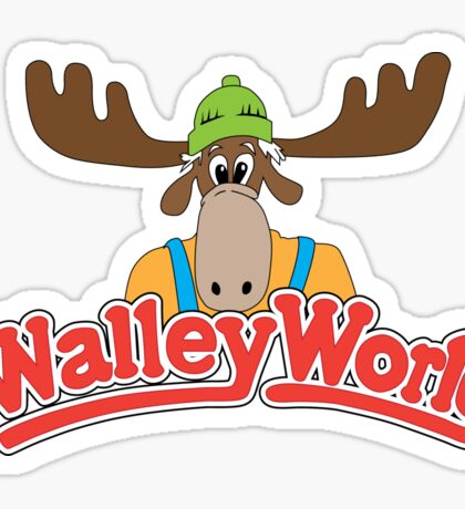 Walley World Sticker