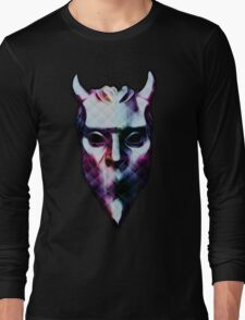 NAMELESS GHOUL - polyfab oil paint Long Sleeve T-Shirt