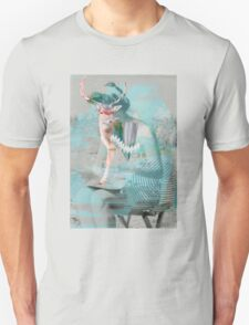 Woman & Deer Unisex T-Shirt