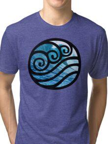 Waterbending - Avatar the Last Airbender Tri-blend T-Shirt