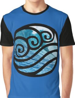 Waterbending - Avatar the Last Airbender Graphic T-Shirt