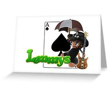 Lemmys Greeting Card