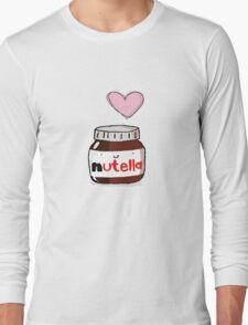 i love nutella Long Sleeve T-Shirt