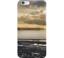 Sunrise over Port Talbot iPhone Case/Skin