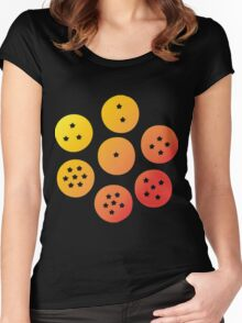 Dragon Balls Women's Fitted Scoop T-Shirt